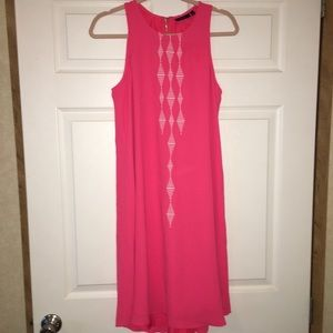 Apt 9 Sleeveless dress size L coral color